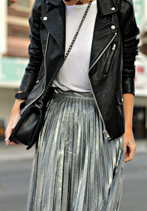 best 25 silver skirt ideas on silver metallic