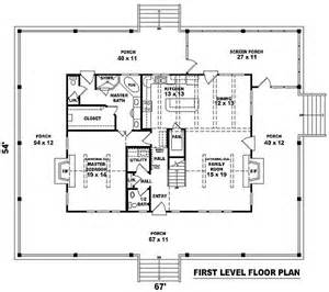 House With Wrap Around Porch Floor Plan by Complete Wrap Around Porch