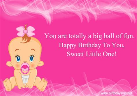 Baby Birthday Quotes Little Girl Happy Birthday Quotes Quotesgram