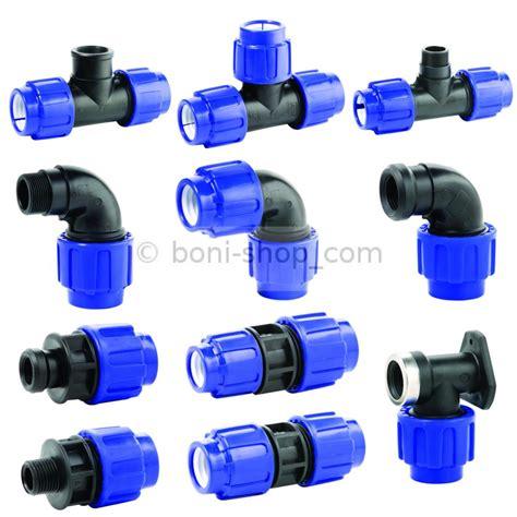 Wasserleitung Aus Kunststoff by 16 20 25 32 40 Mm Pe Verschraubung Qualit 228 T Gewinde Pp