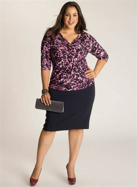 plus size skirt in navy blue