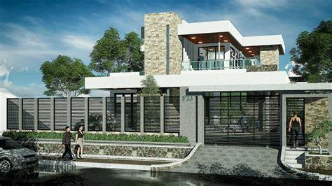 desain rumah natural modern project rumah minimalis modern natural desain arsitek