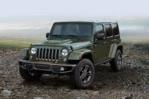 Jeep Wrangler Unlimited Anniversary Edition 2016 Jeep Wrangler Unlimited 75th Anniversary Edition