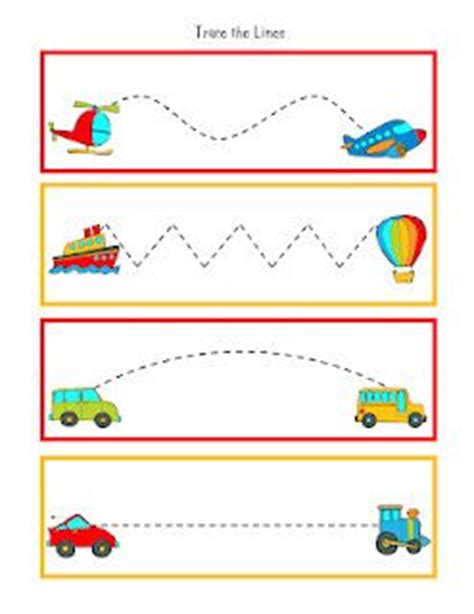 free tracing worksheets for 3 year olds tracing