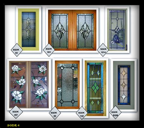 glass cabinet door styles