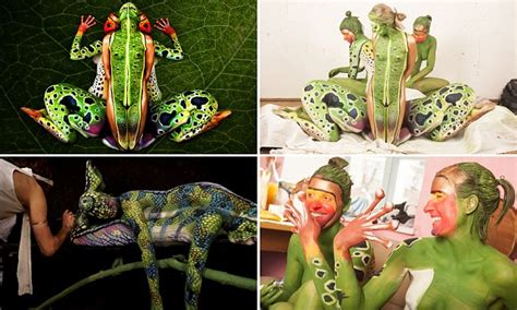 hop art artists incredible body painting transforms