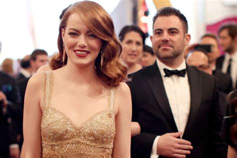 emma stone sister emma stone takes her brother to the oscars while ryan