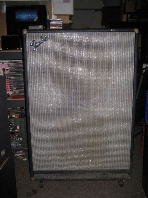 Fender Bassman Speaker Cabinet by Fender Bassman Cabinet 2x15 Speaker Enclosure 4 Ohms 170