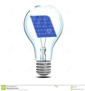 light solar panel stock photography 3d solar light bulb image 38801072