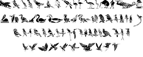 tattoo font bird hff bird stencil font by have fun with fonts fontspace