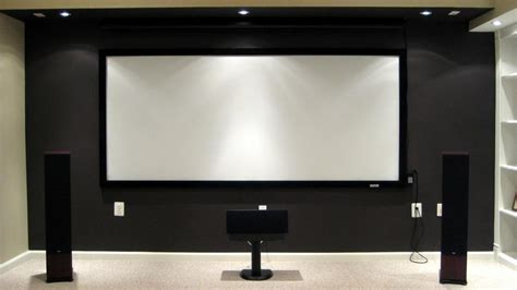 Screen Projector 120 Wall projection screen cinema size 120 inch 16 9 brightness for home theater ff 120 icon china
