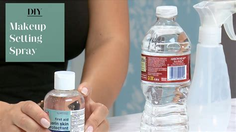 diy waterproof makeup setting spray how to make makeup waterproof diy mugeek vidalondon