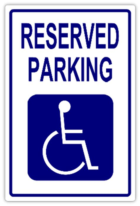 reserved parking signs template reserved parking 109 handicap parking sign templates