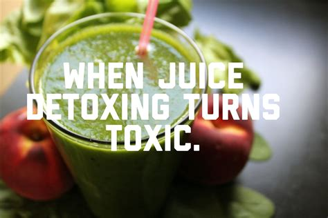 Juice Fast Detox Headache by When Juice Detoxing Turns Toxic Bubbles And Bumps