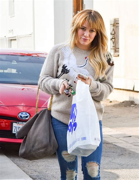Other Designers Hilary Duff With Designer Travel Bags by Hilary Duff Has Kept A Lower Paparazzi Profile Lately But