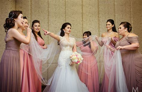 Wedding Photo And by Official Photos From The Wedding Of Pauleen And Vic