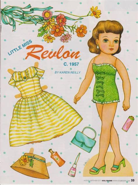 doll reader x paper doll miss revlon doll reader 2011