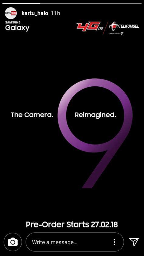 Harga Samsung S9 Pre Order catat ini tanggal pre order galaxy s9 di indonesia