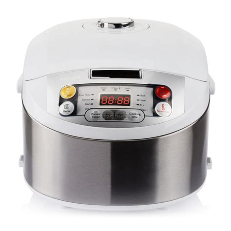 Philips Rice Cooker Hd 3128 33 Silver multicooker viva collection philips hd3037 70