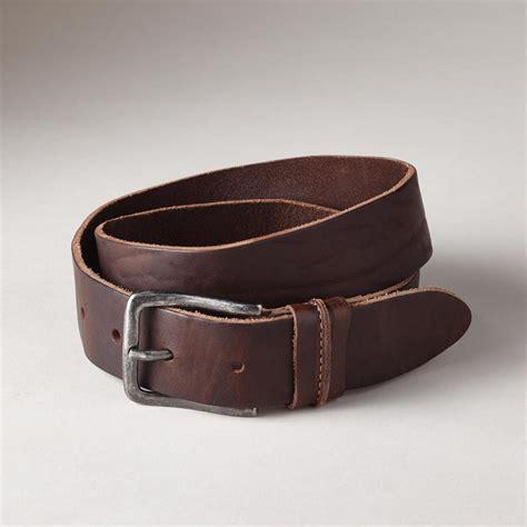 vegetable tanned leather belt robert redford s sundance