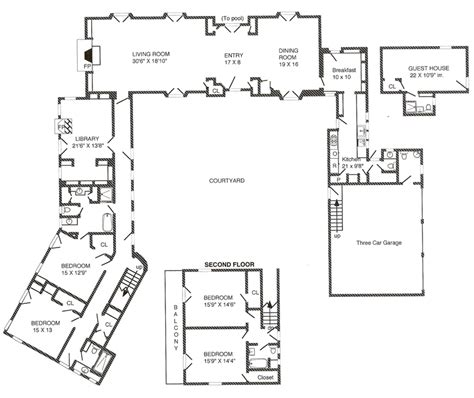 spanish hacienda floor plans spanish hacienda floor plans so replica houses