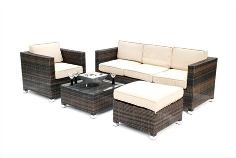 kontiki conversation sets wicker sofa sets beige