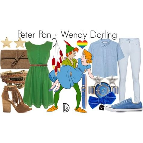 disney bound peter pan wendy darling disney bound