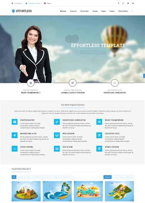 template joomla effortless 70 best business consulting financial joomla templates
