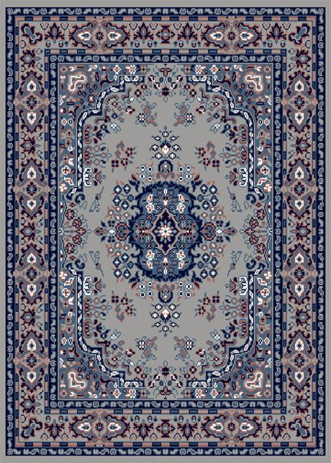 Silver Gray Area Rugs by Silver Grey Area Rug 8 X 11 Carpet 69 Ebay