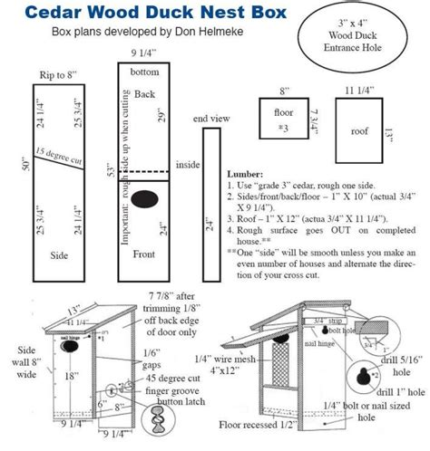 home design articles elegant wood duck bird house plans new home plans design