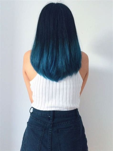 Cat Rambut Metallic 18 beautiful blue ombre colors and styles popular haircuts