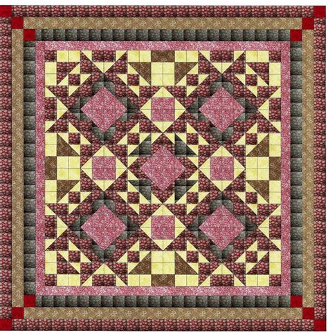 Rooster Fabrics Quilt by Ezy Quilt Kit Civil War Soldiers Pre Cut Fabrics Ready To