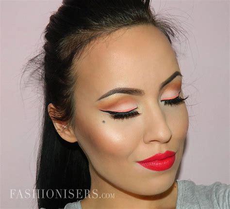 Modern Pin Up October modern pin up makeup tutorial fashionisers