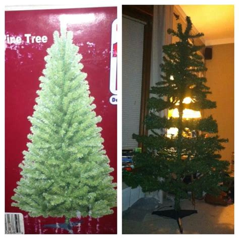 lowes 7 5 ft pre lit artificial christmas tree for 99