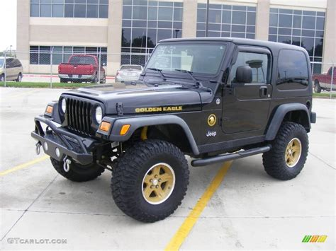 jeep golden eagle interior 2006 black jeep wrangler sport 4x4 golden eagle 18032255