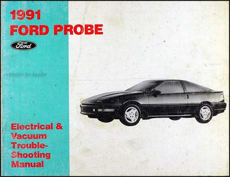 old car manuals online 1991 ford probe engine control 1990 probe and festiva plus 1991 escort tracer engine diagnosis manual
