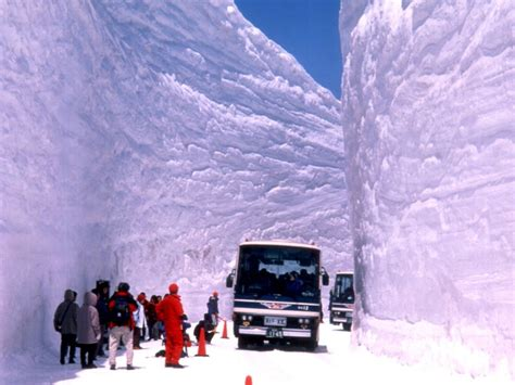 Worst Snowstorm In History Mountains Of Toyama Prefecture