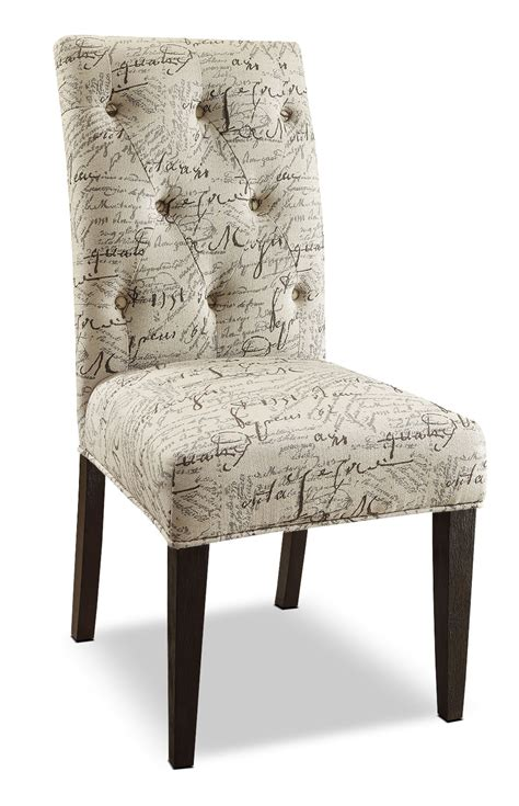 script chair covers script 2 accent dining chair package the brick
