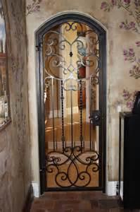 Iron Interior Doors Forge Iron Designs Wine Cellar Doors
