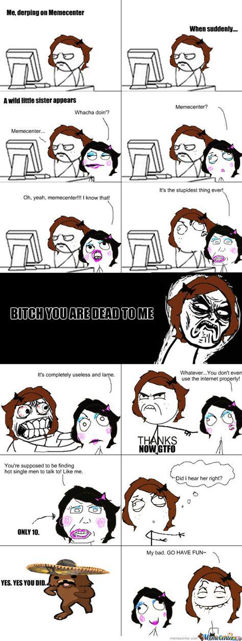 Memes About Sisters - little sister by sparkledora meme center