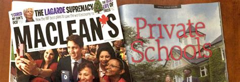 Featured In Macleans by Rca Newsletter September 2016 Ridley College