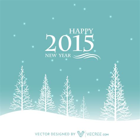 happy new year creative wishes winter happy new year creative design free vector by