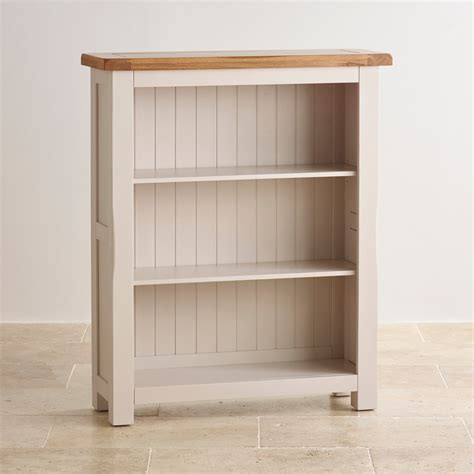 kemble small solid oak small bookcase
