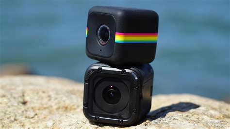 Gopro Cube polaroid cube plus vs gopro session side by side comparison