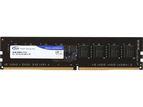 Memory Ram Team Elite Ddr4 So Dimm 4gb 2133 Ted44g2133c15 S01 team elite 4gb 288 pin ddr4 sdram ddr4 2133 pc4 17000 desktop memory model ted44gm2133c1501