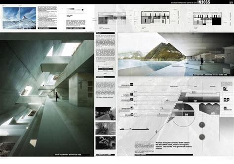 Interior Design Template innatur 3 competition a2 e architect