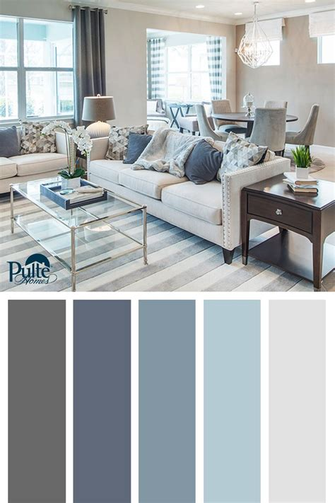 dusty blue interior pain summer colors and decor inspired by coastal living create