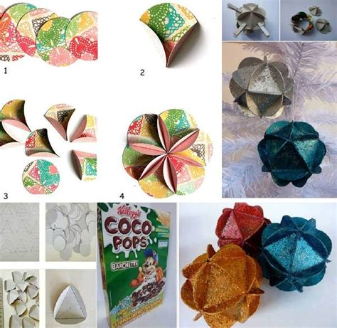 diy decorations recycled diy recycled tree decorations find projects to do at home and arts and