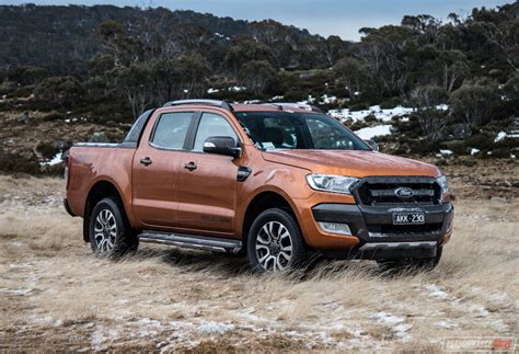 ford ranger 2017 ford ranger wildtrak review video performancedrive