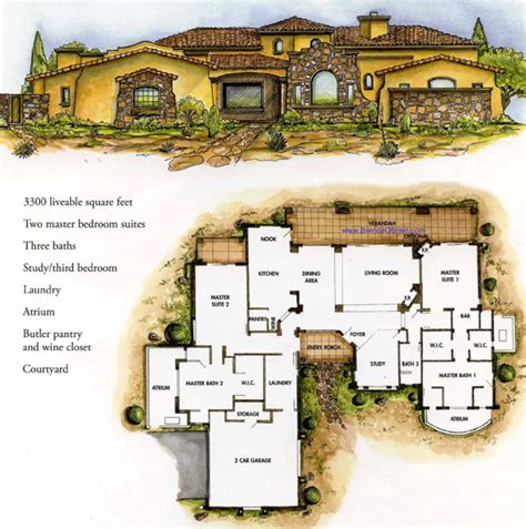 italian villa house plans studio design gallery